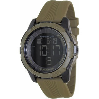 Freestyle Men's 'Kampus XL' Green/ Black Digital Watch