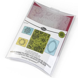 Sizzix 'Far Out Florals' by Rachael Bright Embossing Folders (Set of 2)