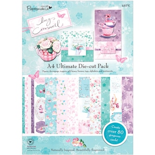 Papermania Lucy Cromwell Ultimate Die-Cut Pack A4 48/Sheets-
