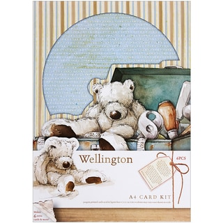 Wellington A4 Card Kit-