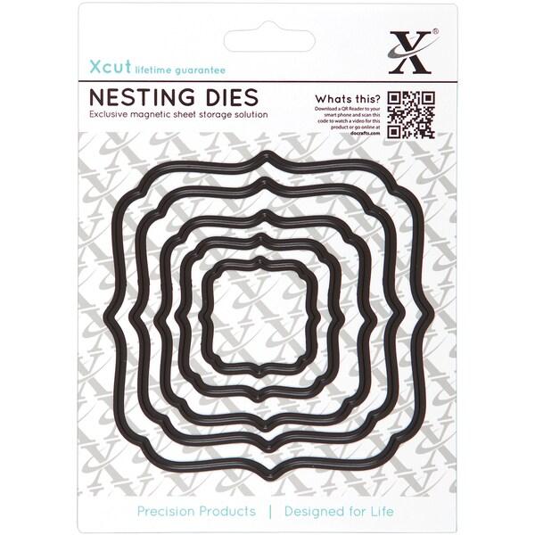 Xcut Nesting Dies-Square Parenthesis