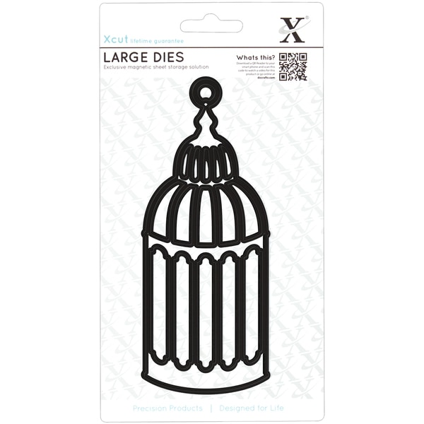 Xcut Decorative Dies Large-Birdcage #1