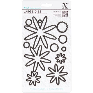 Xcut Decorative Dies Large-Glorious Gerbera