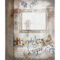 "Romantic Travel Scraps Ring Bound Book 7""X10"" 32 Pages-"