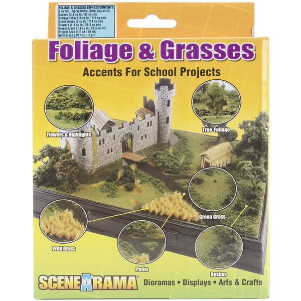 Bushes Foliage & Grasses Kit
