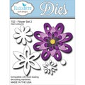 Elizabeth Craft Metal Die-Flower Set 2