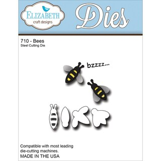 Elizabeth Craft Metal Die-Bees