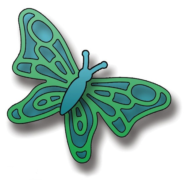 Elizabeth Craft Metal Die-Small Butterfly