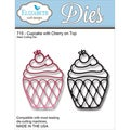 Elizabeth Craft Metal Die-Cupcake W/Cherry On Top