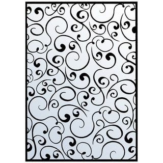 "Nellie Snellen Embossing Folder 4""X6""-Swirls 1"
