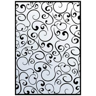 """Nellie Snellen Embossing Folder 4""""X6""""-Swirls 1"""