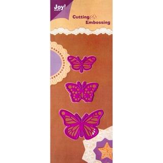Joy! Craft Cut & Emboss Dies-Butterflies