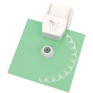 Martha Stewart Circle Border Cartridge-Floral Web