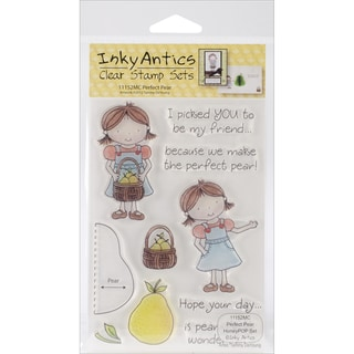 Honeypop Clear Stamp Set-Perfect Pear