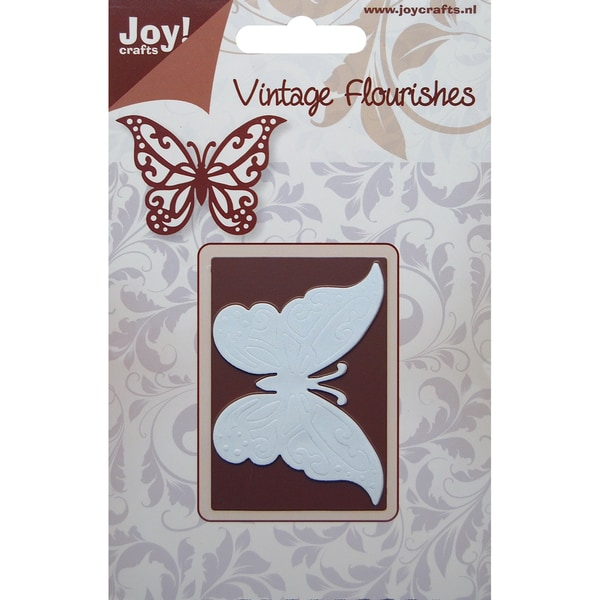 Joy! Craft Dies-Vintage Flourishes - Butterfly
