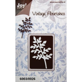 Joy! Craft Dies-Vintage Flourishes - Small Leaves/Branch