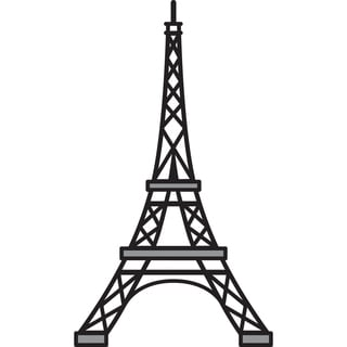 Marianne Designs Craftable Die-Eiffel Tower