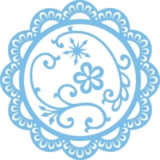 Marianne Designs Creatables Die-Scallop Circle Frame & Flowers