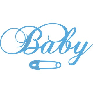 Marianne Designs Creatables Die-Baby Text & Safety Pin