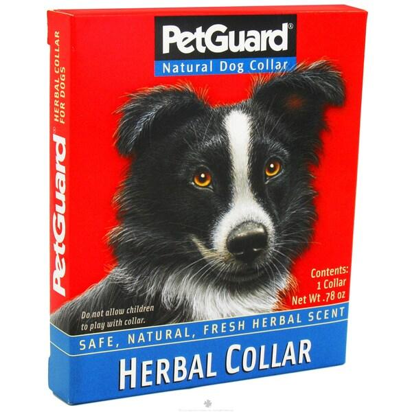 Pet Guard 22-inch Natural Dog Herbal Collar