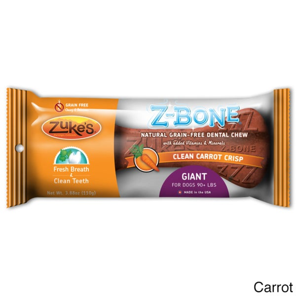Zuke's Giant Z-Bones Natural Edible Dental Chews 10925979