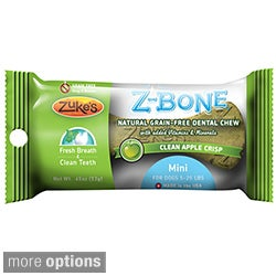 Zuke's Mini Z-Bones Natural Edible Dental Chews