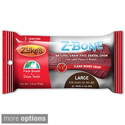 Zuke's Large Z-Bones Edible Dental Chews