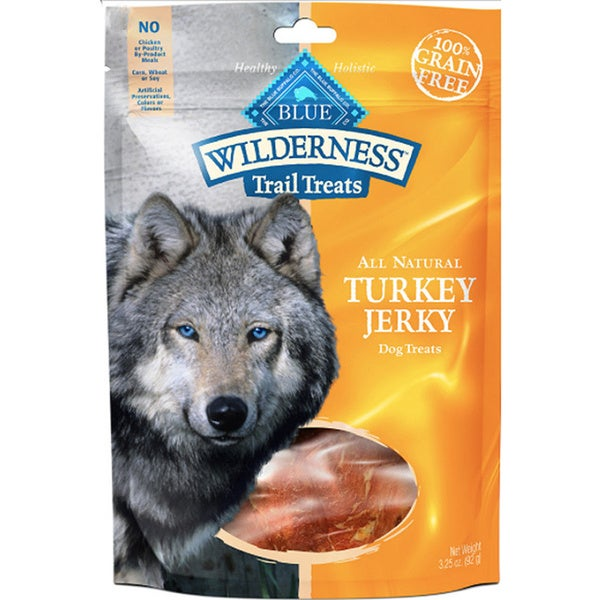 Blue Wilderness Grain Free Turkey Jerky Dog Treats