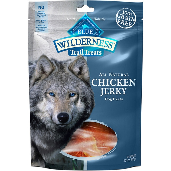 Blue Buffalo Wilderness Trail Treats 3.25-ounce Chicken Jerky