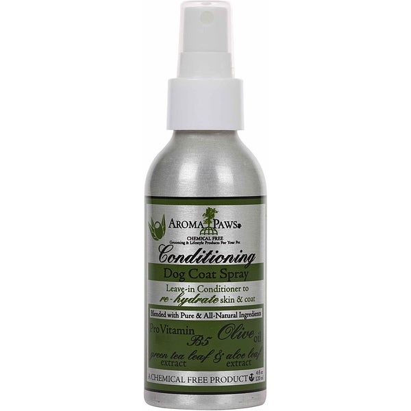 Aroma Paws Olive Oil Conditioning Dog Coat Spray