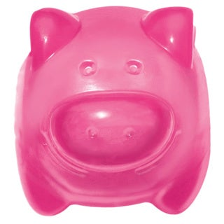 Kong Squeezz Jel Pig Dog Toy