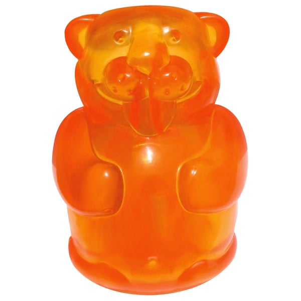 Kong Squeezz Jel Beaver Dog Toy 10926081