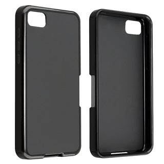 BasAcc Black Jelly TPU Rubber Case for BlackBerry Z10