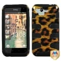 MYBAT Leopard/ Black Fishbone Case for HTC ADR6330 Rhyme