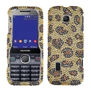 MYBAT Leopard/ Camel Case for Huawei M570 Verge