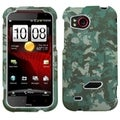 MYBAT Camo/ Green Case for HTC ADR6425 Rezound