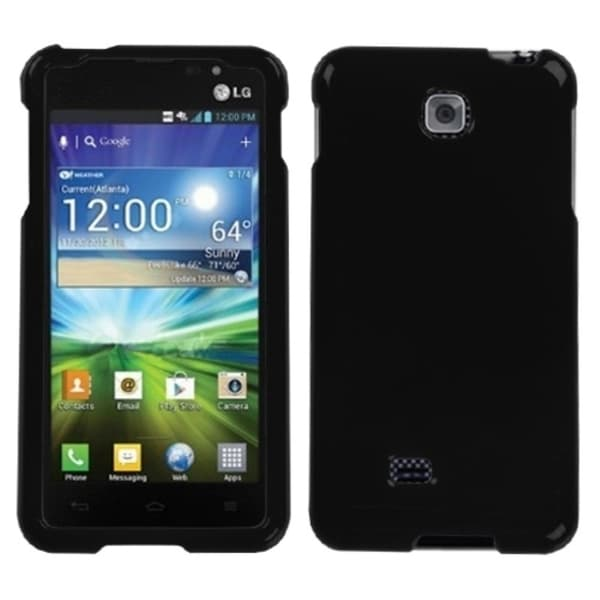 INSTEN Black Phone Case Cover for LG P870 Escape