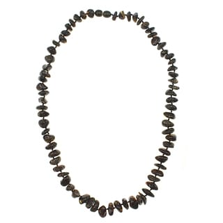 Handcrafted Baltic Amber Handtied Nuggets Necklace (Lithuania)