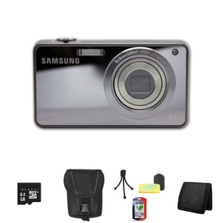 Samsung ST700 16.1MP Digital Camera with 8GB Bundle