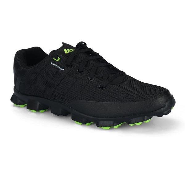 adidas Men's crossflex Golf Shoe - Black/Slime