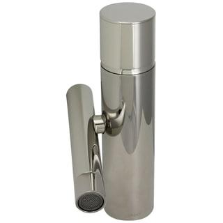 Jado Platinum Nickel Credo Single Lever Monoblock Faucet with Pop-Up