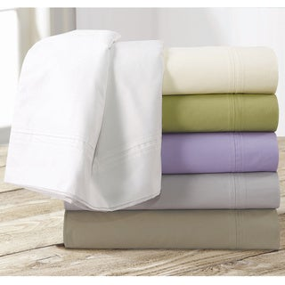 Egyptian Cotton Percale 350 Thread Count Deep Pocket Sheet Set