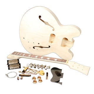 Delta Classic Unfinished Electric Guitar Builder Kit