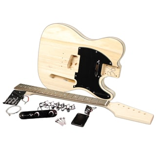 Fullerton Unfinished Electric Guitar Builder Kit