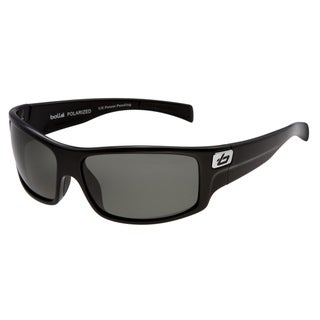 Bolle Men&#39;s &#39;Phantom&#39; Shiny Black Sunglasses