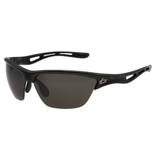 Bolle Men&#39;s &#39;Helix&#39; Shiny Black Sunglasses