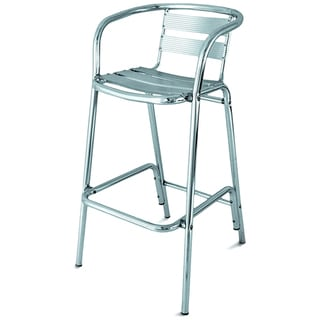 Bahamas Aluminum Tall Bar Arm Chair