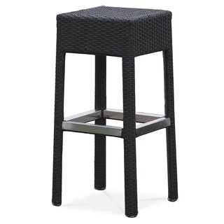 Miami Indoor/Outdoor Resin Wicker Bar Stool
