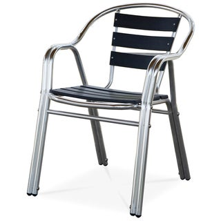 Milano Indoor/ Outdoor Stackable Arm Chair