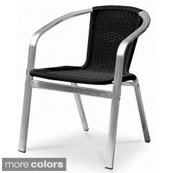 Tahiti Indoor/ Outdoor Resin Wicker Stackable Arm Chair